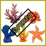Adornos de coral para acuarios