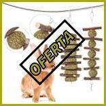 Juguetes para conejos enanos