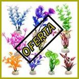 Plantas plasticas para acuarios