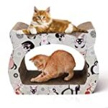Rascador para gatos de carton