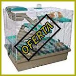 Jaula para hamster tres pisos